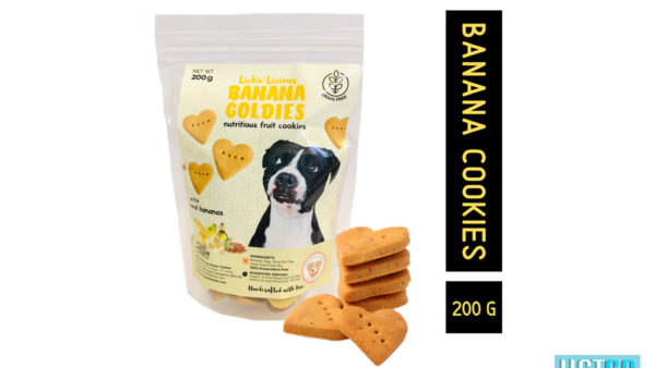 Clever Canine Banana Goldies Grain Free Cookies