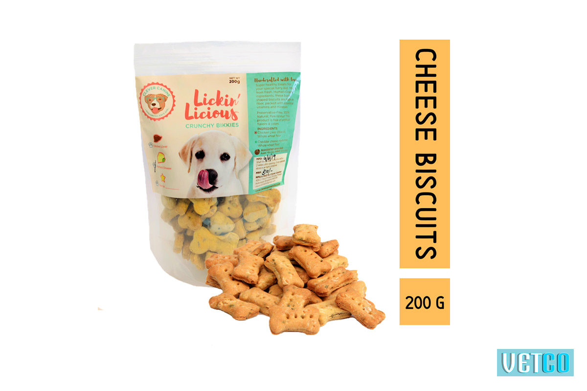 Clever Canine Herbed Cheese Flavour Crunchy Bikkies