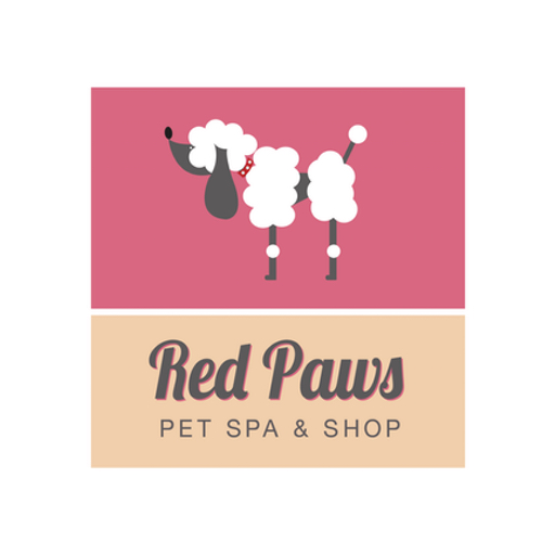 red paws logo