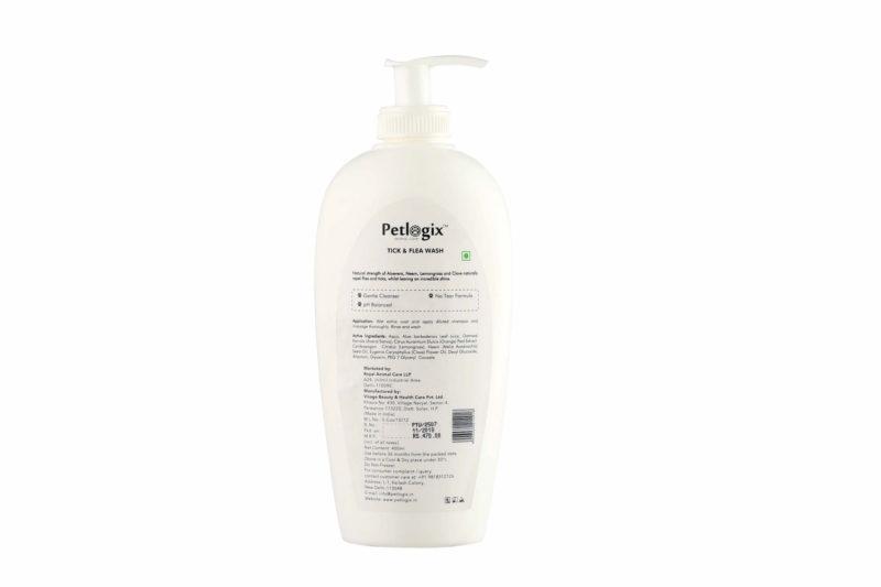 Petlogix Tick and Flea Wash, 400 ml