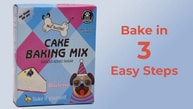 Cake Baking Mix blueberry