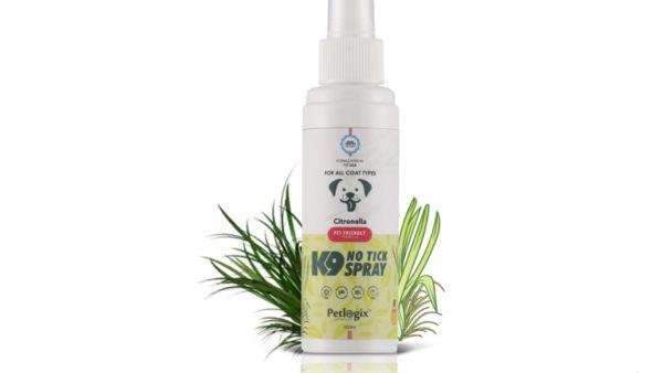 Petlogix Natural No Tick Spray, 100 ml