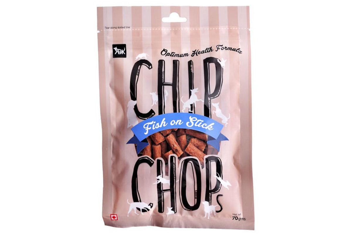 Chip Chops Dog Treats - Fish On Stick