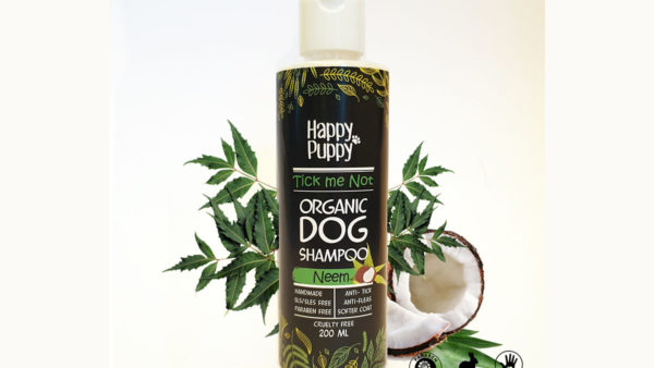 Happy Puppy Organic Anti-Tick Shampoo