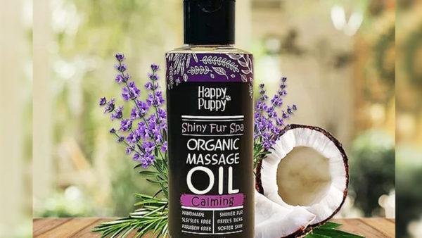Happy Puppy Organic Shiny Fur Spa Massage Oil