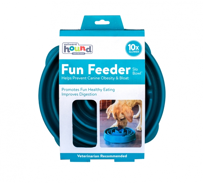 Outward Hound Fun Feeder Mini Slo-Bowl