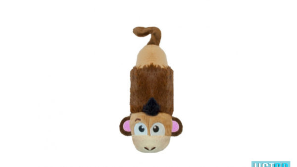 Outward Hound Stuffing Free Lil' Squeak Mini Monkey
