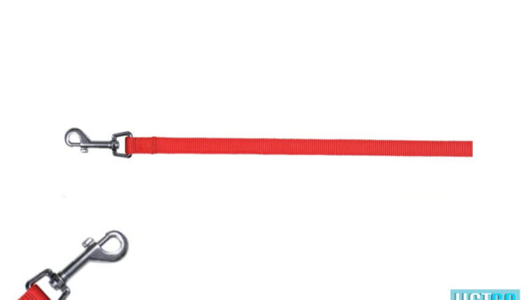 Trixie Classic Solid Dog Leash – Red