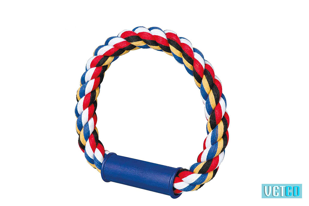 Trixie Tugger Round with Plastic Handle for Dogs
