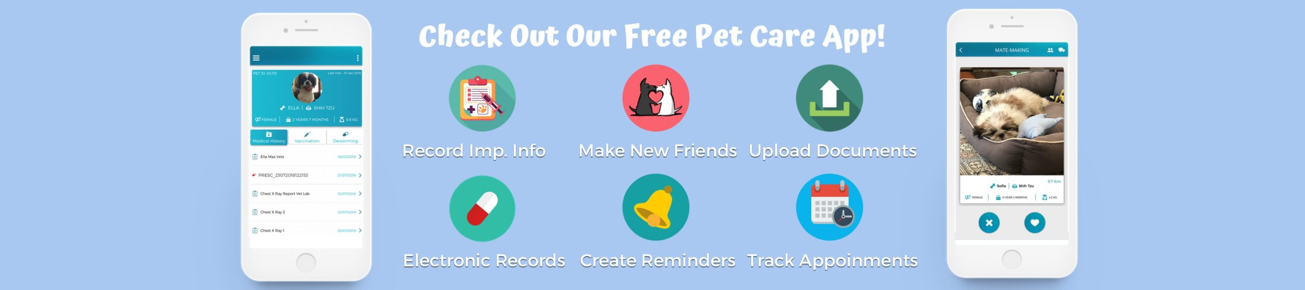 GetVetco's pet care app to download