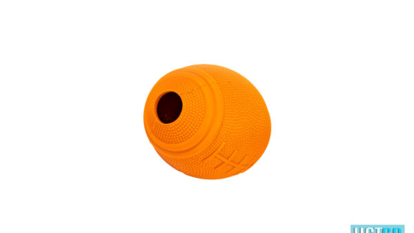 Bark Butler Basics Just A Fooball Dog Toy – Orange