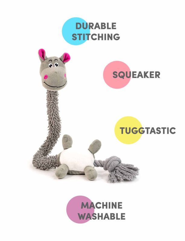 Bark Butler Jerry the Giraffe Plush Toy