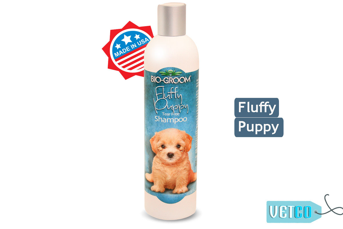 Bio-Groom Fluffy Puppy Dog Shampoo, 350 ml