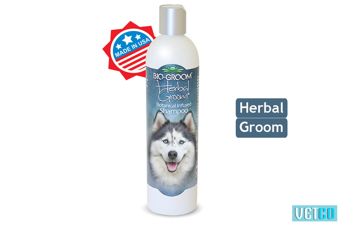 Bio-Groom Herbal Groom Dog & Cat Shampoo, 355 ml