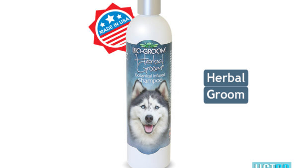 Bio-Groom Herbal Groom Dog & Cat Shampoo, 355 ml
