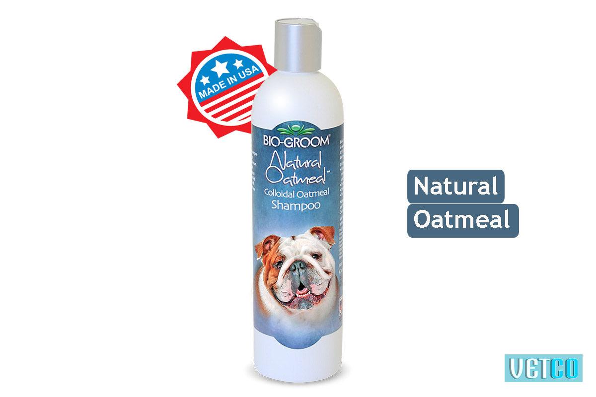 Bio-Groom Natural Oatmeal Dog & Cat Shampoo, 350 ml