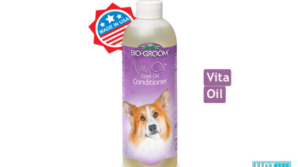 Bio-Groom Vita Oil Dog & Cat Coat Oil Conditioner, 473 ml