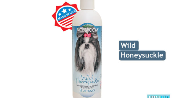 Bio-Groom Wild Honeysuckle Dog & Cat Shampoo, 350 ml