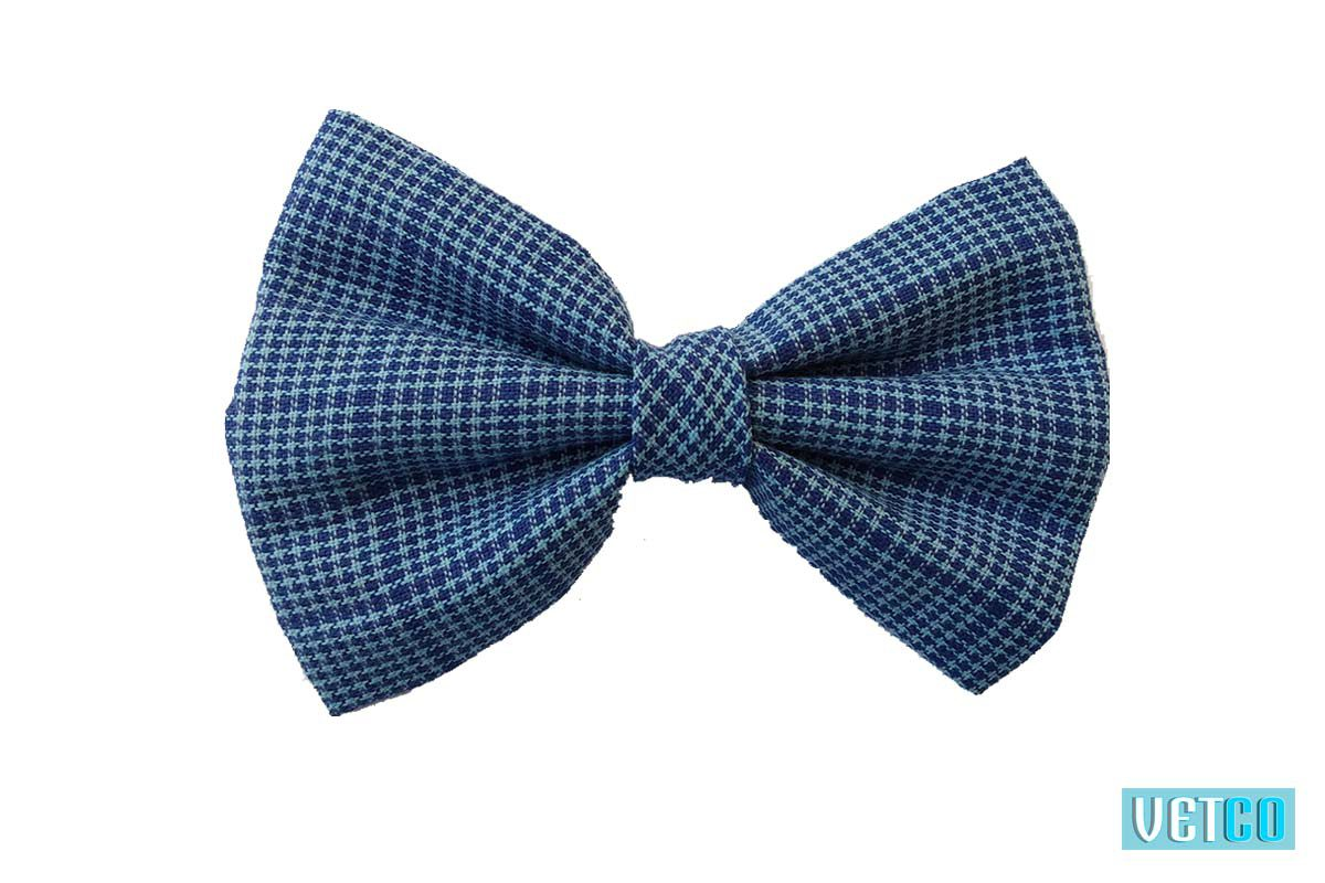 Hazel and Co Blue Lagoon Bow Tie For Dogs