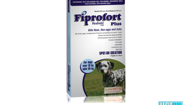 Fiprofort Plus Spot-On Solution For Medium Dogs (10 kgs upto 20 kgs)