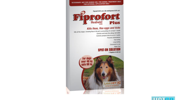 Fiprofort Plus Spot-On Solution For Extra Large Dogs (40 kgs to 60 kgs)