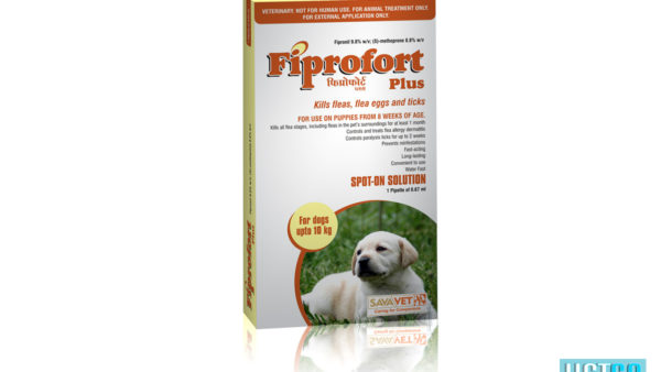 Fiprofort Plus Spot-On Solution For Puppies (from 8 weeks of age, upto 10kgs)