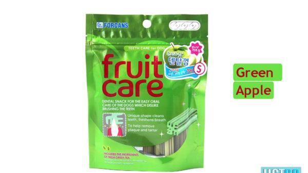 Forcans Fruit Care Medium Dental Dog Treats (Green Apple