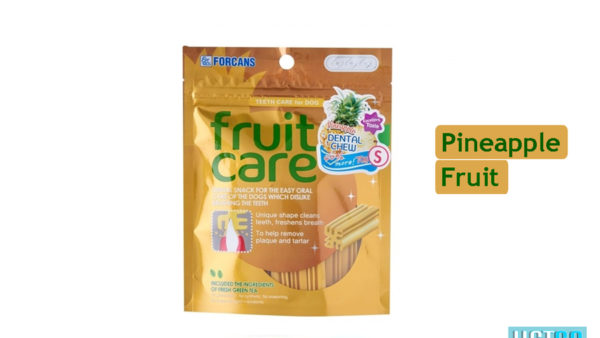 Forcans Fruit Care Medium Dental Dog Treats (Pineapple)