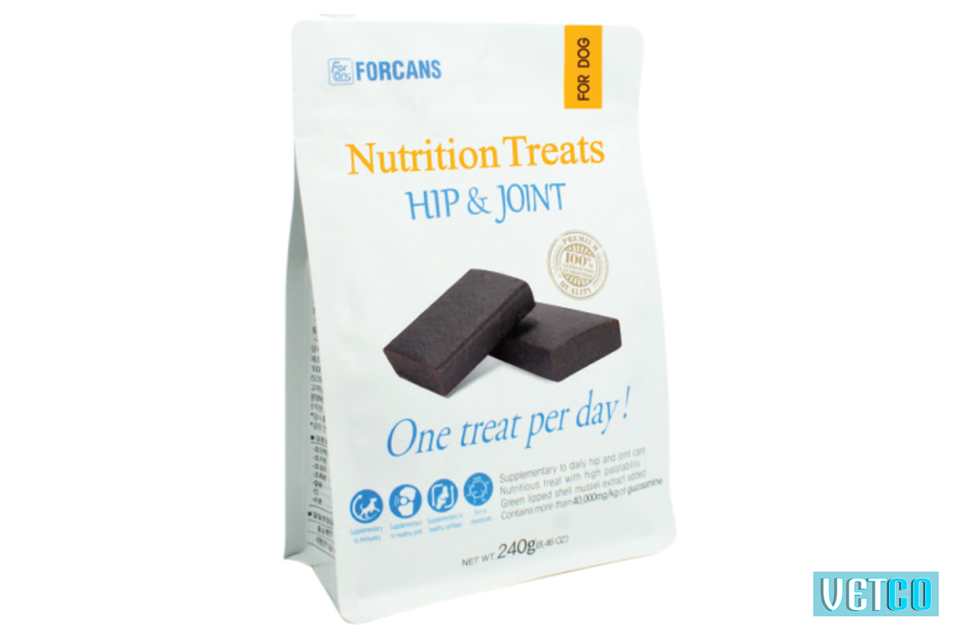 Forcans Hip & Joint Nutrition Treats For Dogs