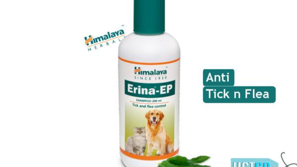 Himalaya Erina EP Tick & Flea Shampoo, 200 ml