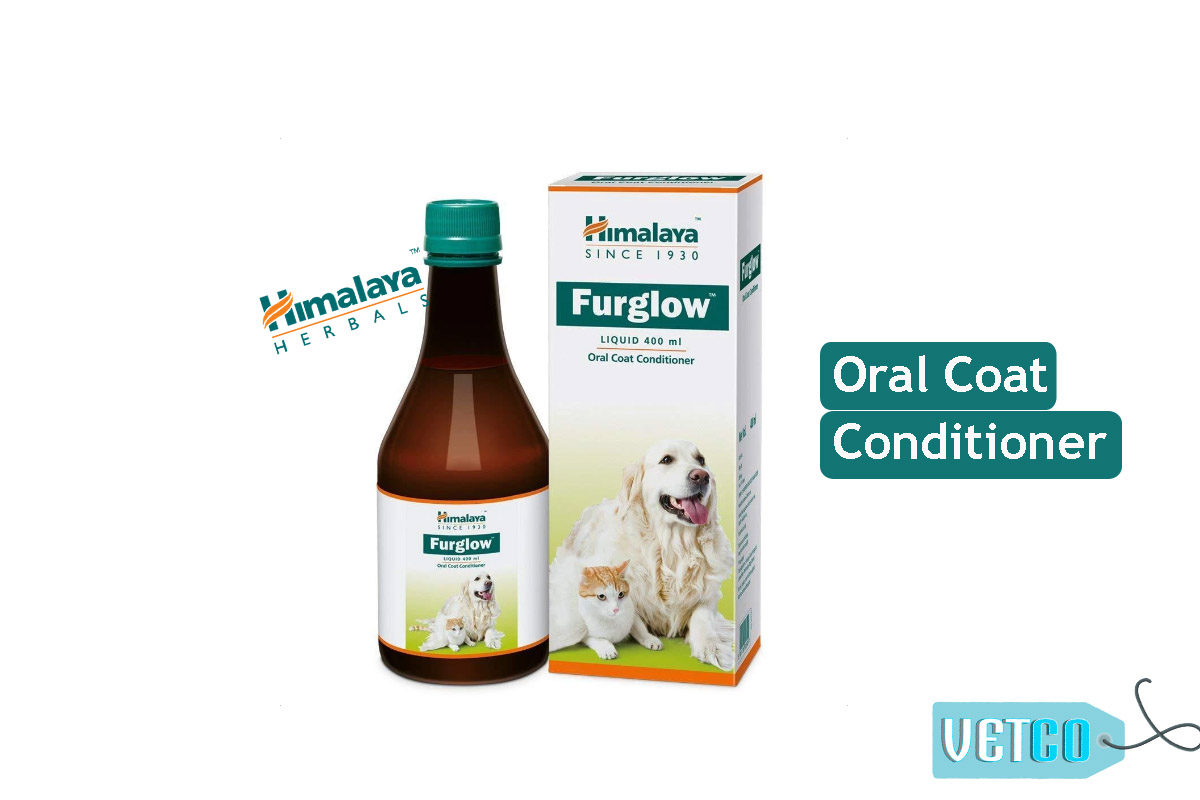 Himalaya Furglow Oral Coat Conditioner, 400 ml