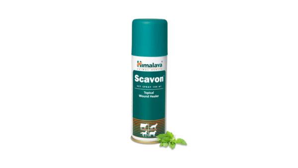 Himalaya Scavon Topical Vet Spray, 100 ml (Pack of 2)