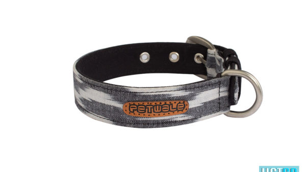Pet Wale Ikat Belt Dog Collar