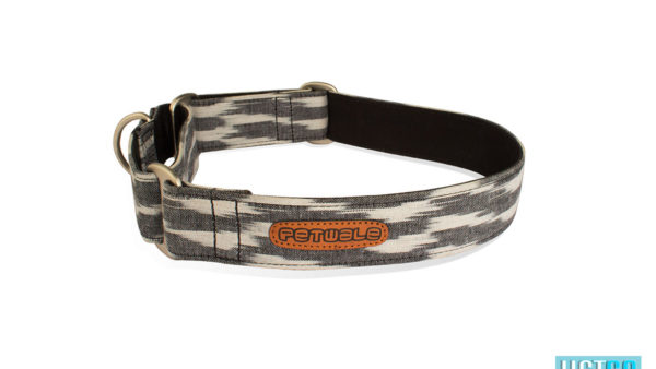 Pet Wale Ikat Martingale Dog Collar