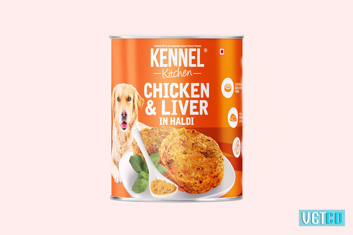 Kennel Kitchen Chicken and Liver with Haldi (All Breeds and Sizes)
