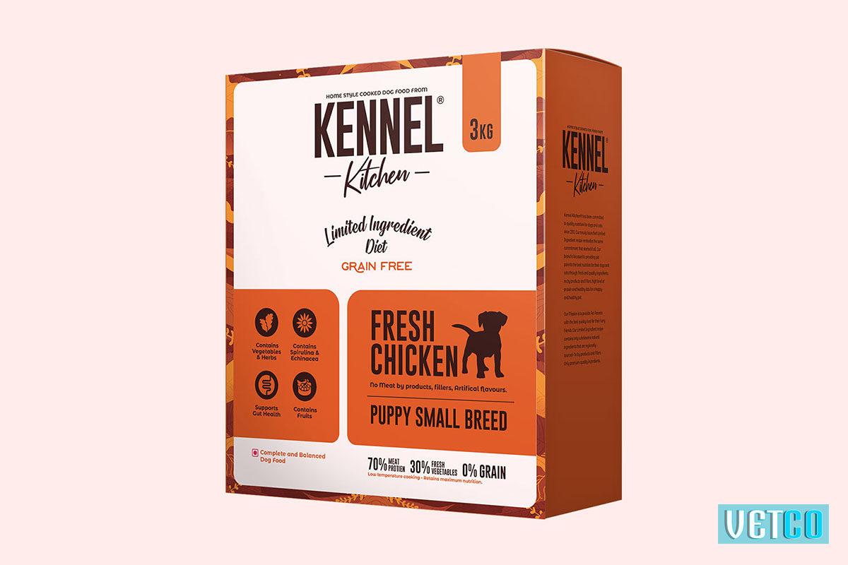 Kennel Kitchen Puppy Fresh Chicken Dry Dog Food (Small & Medium Breeds)