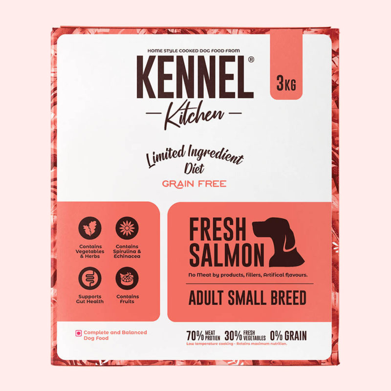 Kennel Kitchen Adult Fresh Salmon Dry Dog Food (Small & Medium Breeds)