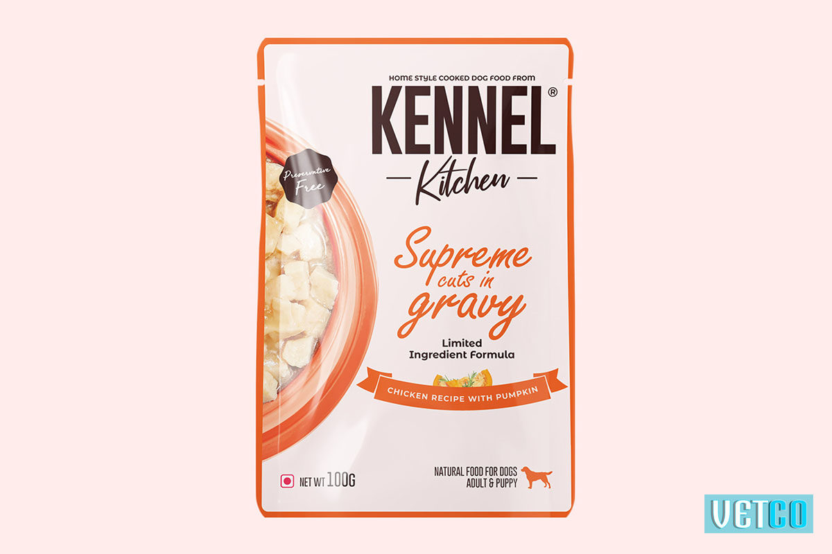 Kennel Kitchen Supreme Cuts in Gravy – Chicken with Pumpkin