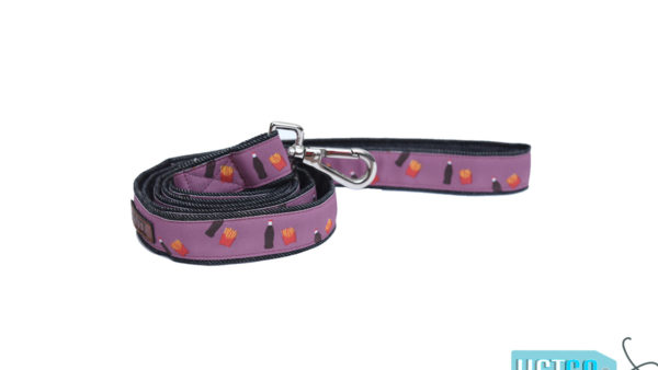 Mutt Ofcourse Cola & Fries Dog Leash