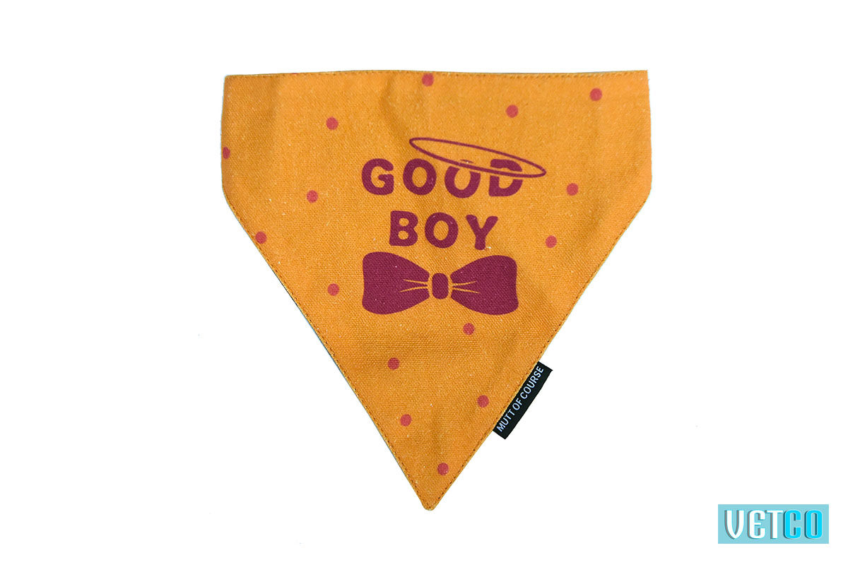 Mutt Ofcourse Good Boy Bandana