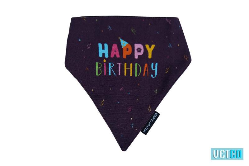 Mutt Ofcourse Happy Birthday Bandana