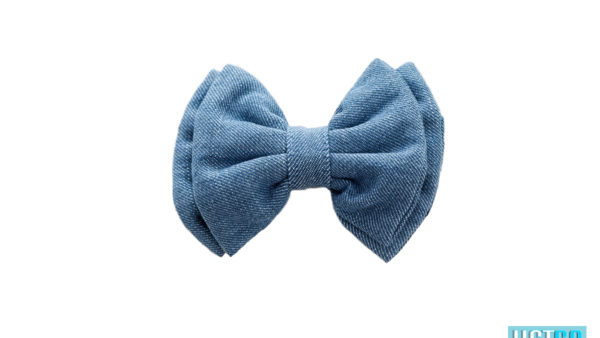 Mutt Ofcourse Light Blue Denim Bow