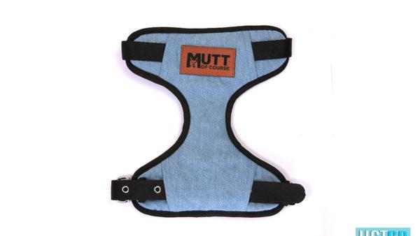 Mutt Ofcourse Light Blue Denim Harness