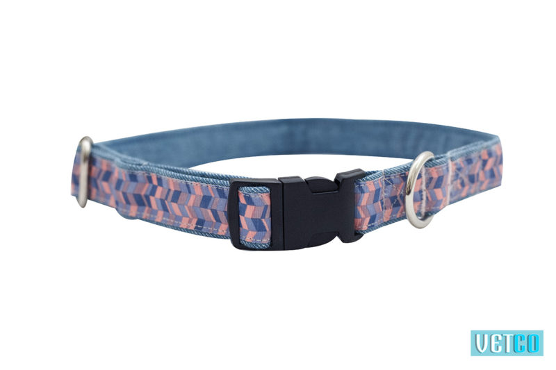 Mutt Ofcourse Geometrical Printed Dog Collar