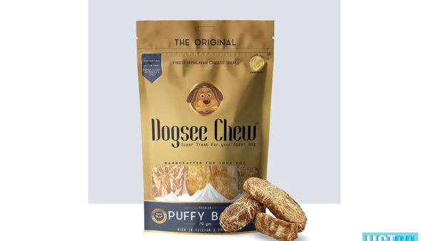 Puffy Bars Soft Dental Treats For Senior Dogs