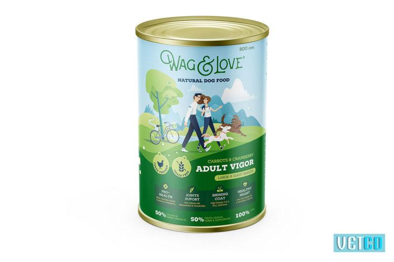 Wag & Love Adult Vigor Dry Dog Food (Large & Giant Breeds)