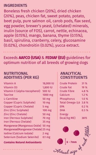 Wag & Love Puppy Bloom Dry Dog Food (Starter & Small Breeds)