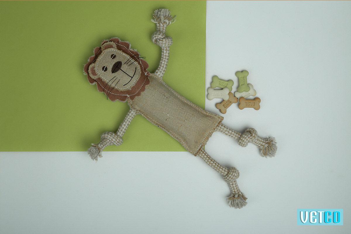 We Exist Brave Lion Handmade Dog Toy
