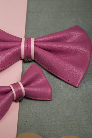 We Exist Cotton Candy Swirl Bow Tie