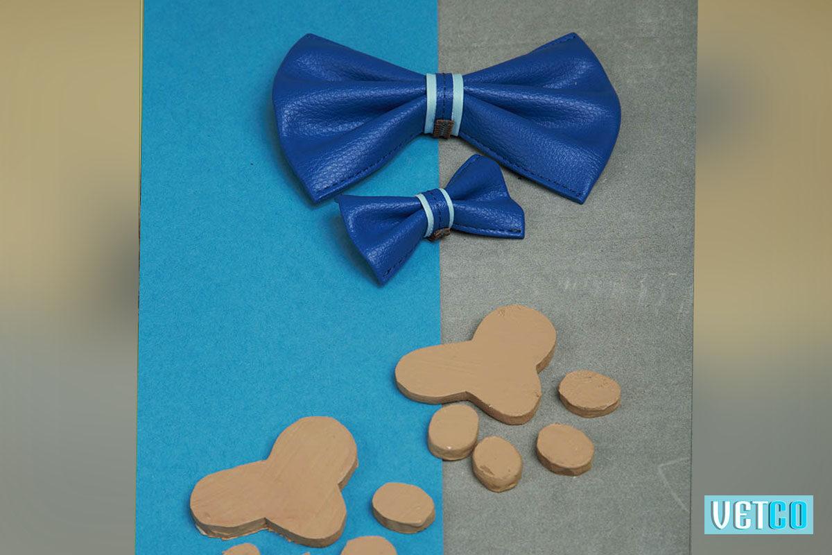We Exist Tickle Me Blue Bow Tie